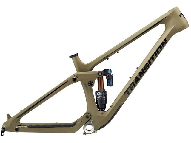 Transition Bikes Scout Frame Set Carbon, olive green